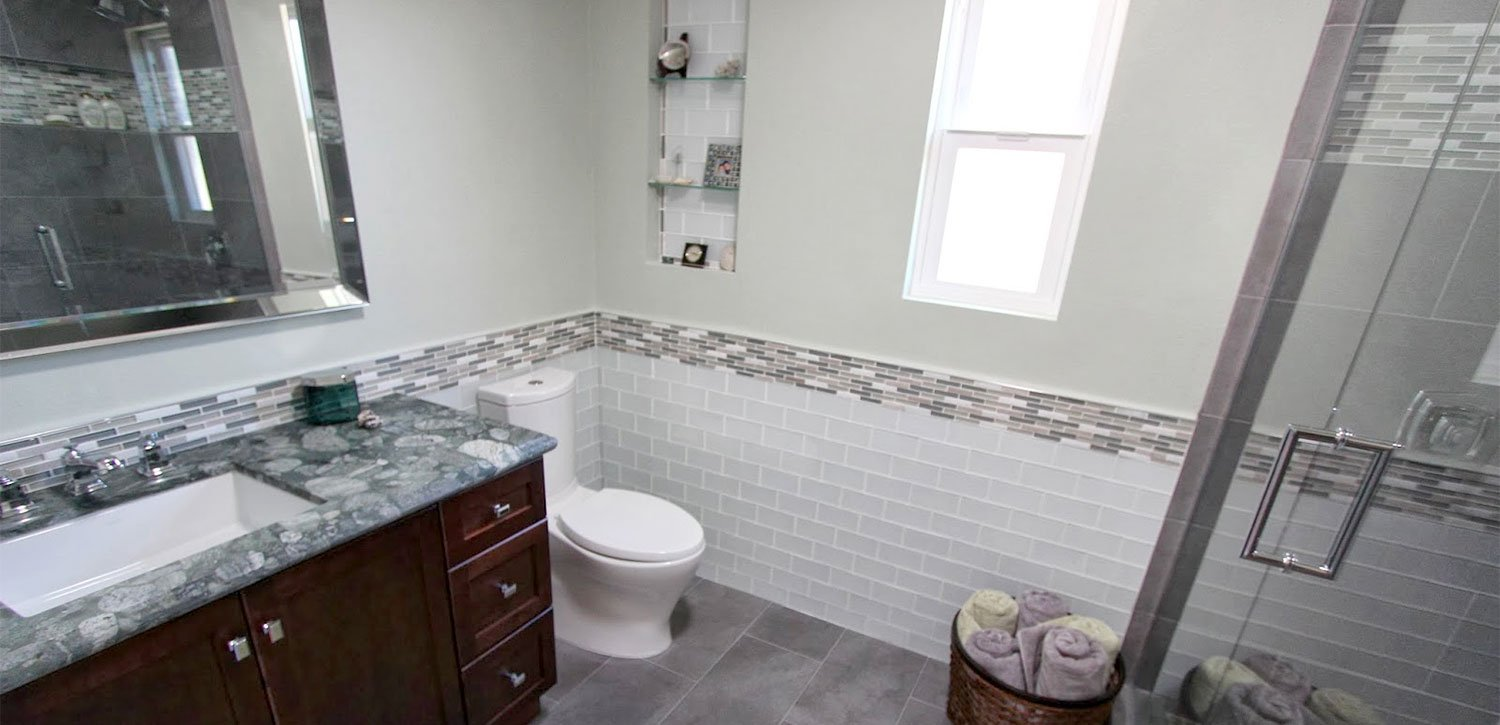 Brightening a Small Bathroom, San Diego CA | Over 25 Years ...