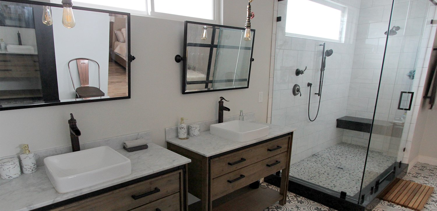 Anybody who has watched HGTV's House Hunters knows that bathrooms and kitchens sell homes. An old, out-dated kitchen or bathroom can mean the difference ...