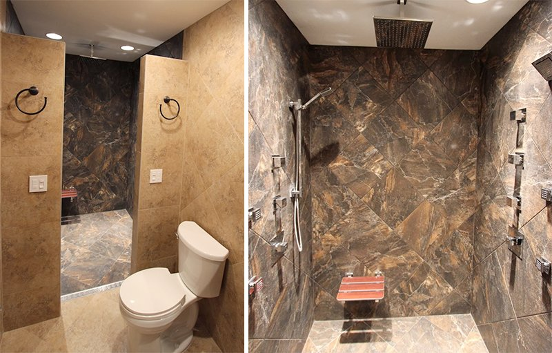 Aging in Place Remodeling Bathroom