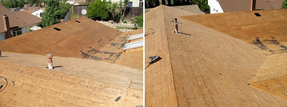 Plywood Deck Roof Tear Offs